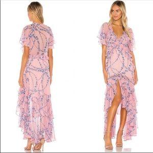 Misa Los Angeles maxi dress XS NWT